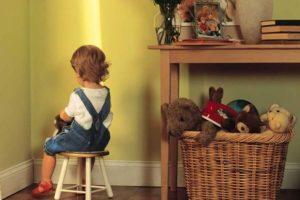 Как наказывать непослушного ребенка?