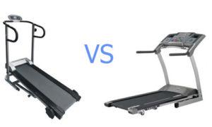Какая лучше беговая дорожка механическая или электронная?