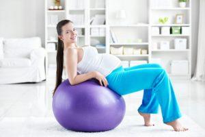 Спорт в домашних условиях для беременных