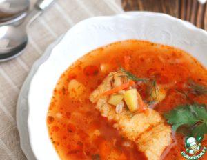 Суп рыбный из трески с перловкой