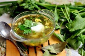 Чем полезен щавельный суп