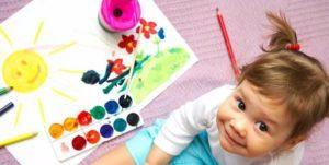 Как ребенка научить узнавать цвета?