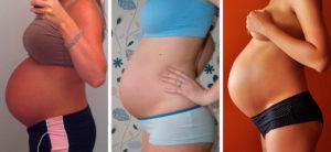 Тяжесть животе 34 неделе беременности
