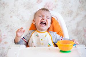 Ребенок с рождения плохо ест