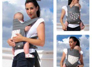 Слинг для новорожденных как сшить