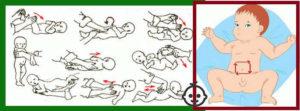 Как помочь ребенку пукать?