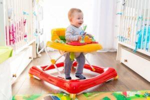 С какого возраста детям можно ходунки