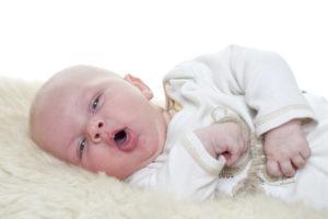 Кашель и температура у новорожденного