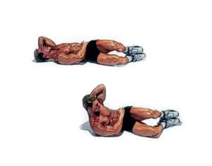 Как накачать продольные мышцы пресса?