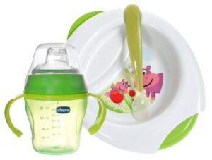 Посуда для прикорма малыша