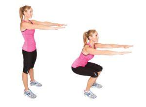 Упражнения для тонких ног в домашних условиях
