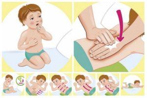 Чем растирать ребенка до года при кашле