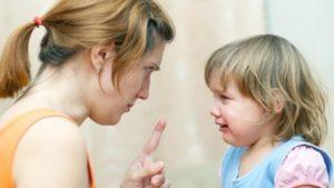 Ребенок не слушается отца