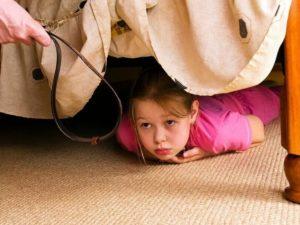 Как ребенка наказывать в 7 лет?