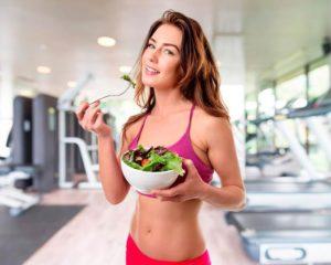 Диета для сброса веса при тренировках