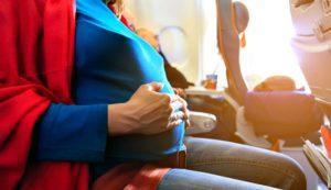 Перелет на 25 неделе беременности