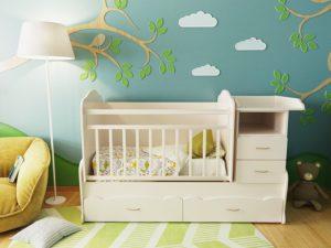 Какую выбрать кроватку для малыша?