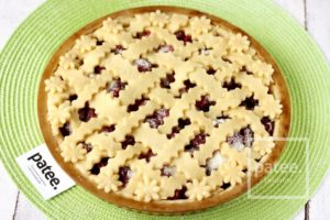 Песочный пирог с вишней калорийность
