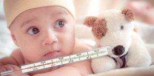 У новорожденного температура 37 8