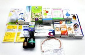 Какие нужны лекарства для новорожденных?