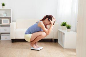 Почему не скидывается вес при диете?