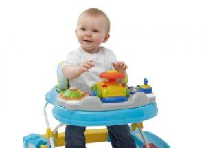 Со скольки месяцев можно ходунки детские