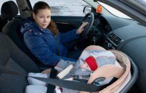 Пдд перевозка детей на переднем сидении