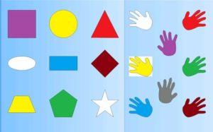 Как научить ребенка формам?
