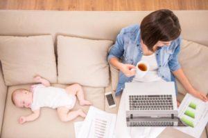 Как заработать сидя в декрете дома?
