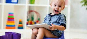 Как ребенка в годик приучить к горшку?