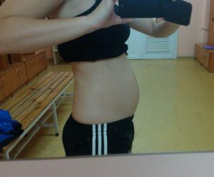 Беременность 14 15 недель живот