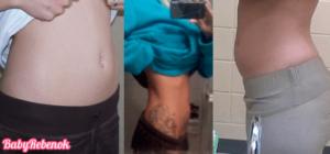 Надулся живот 6 неделя беременности