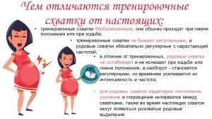 Тренировочные схватки на 29 неделе беременности