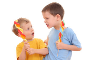 Как ребенка научить не бояться драться?
