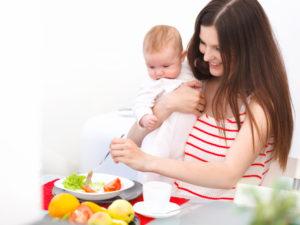 Как можно похудеть при кормлении ребенка?