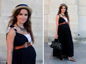 Как стильно выглядеть во время беременности?