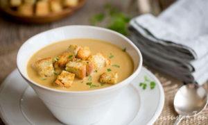 Как вкусно приготовить суп пюре из картофеля?
