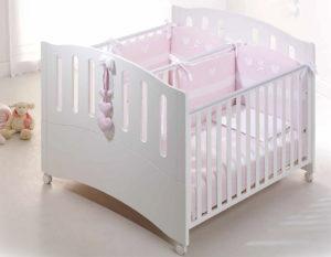 Кроватки для двойняшек новорожденных