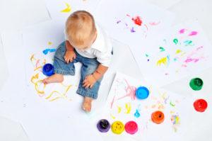 Как научить ребенка цвета?