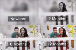 Как новорожденные видят?