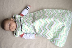 Спальный мешок своими руками для малыша