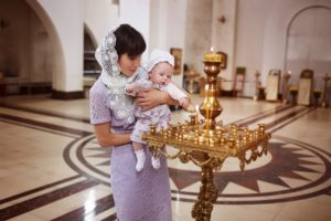 В чем крестят ребенка