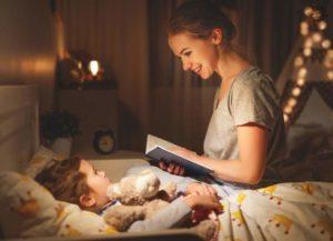 Вечер пора укладывать ребенка спать