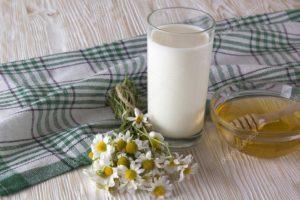 Ромашка с молоком для похудения