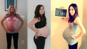 38 Недель сильно тянет низ живота