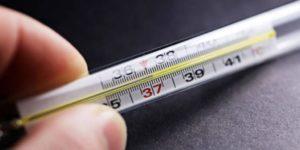 Ребенка температура 37 38 неделю