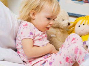 Боли в животе у детей 7 лет