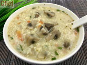 Постный вкусный грибной суп