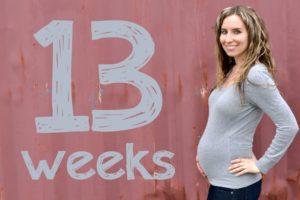 13 Ая неделя беременности