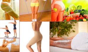 Как сделать ноги без целлюлита?